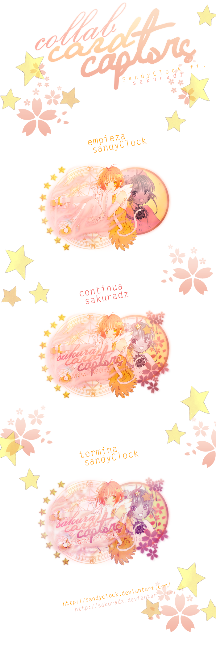 Collab   SAKURA CARD CAPTOR   by SakuraDz