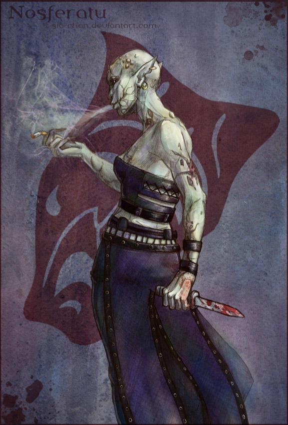 Vampire the masquerade character creation