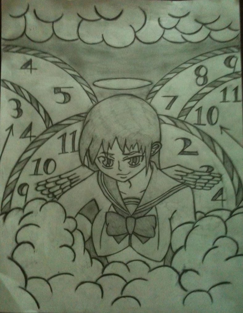 Angel Of Time by UltimateAnimeLover95