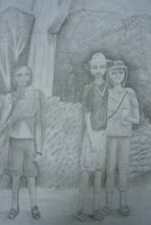 Mom, Dad, Me, and a Cactus by Ramani-Rayne