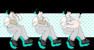 dumplings by cinnabunswirl