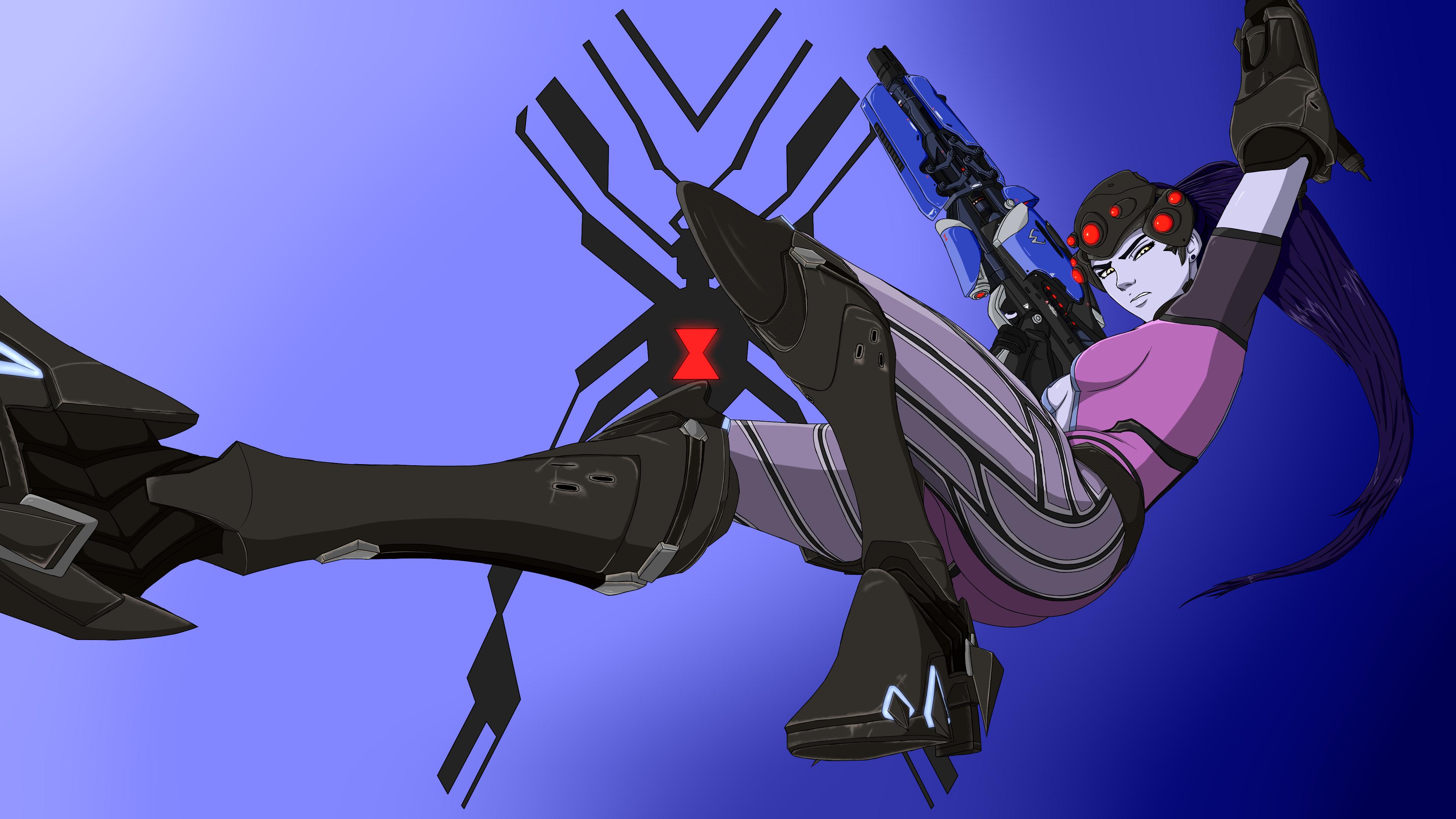 Overwatch, Widowmaker by GiannisXD55