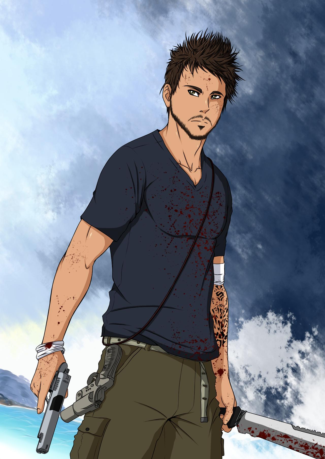 Far Cry 3 Jason Brody By Giannisxd55 On Deviantart