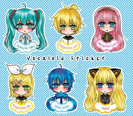 Vocaloid sticker