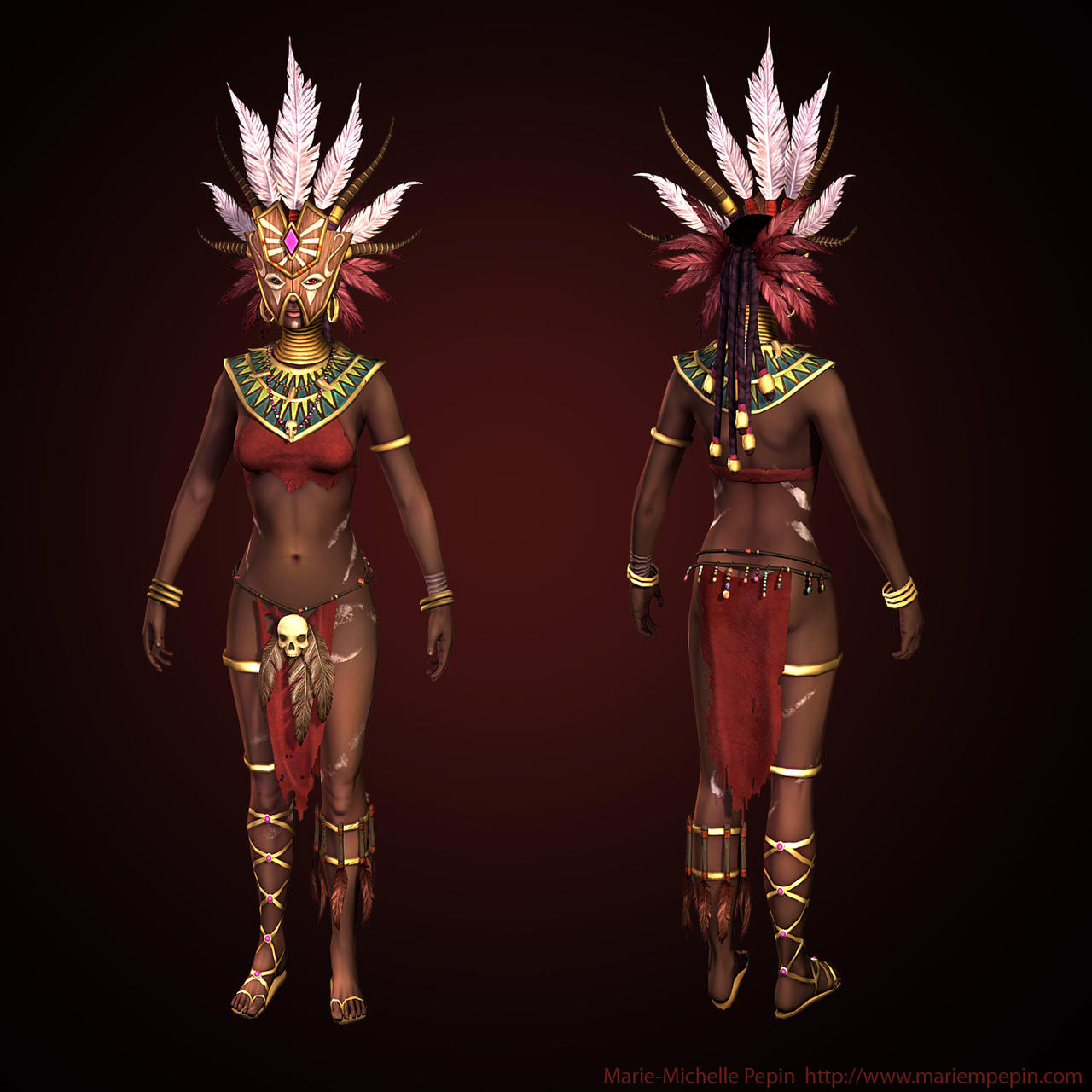 Low resolution Diablo III Witch doctor Masked by Azraele ...