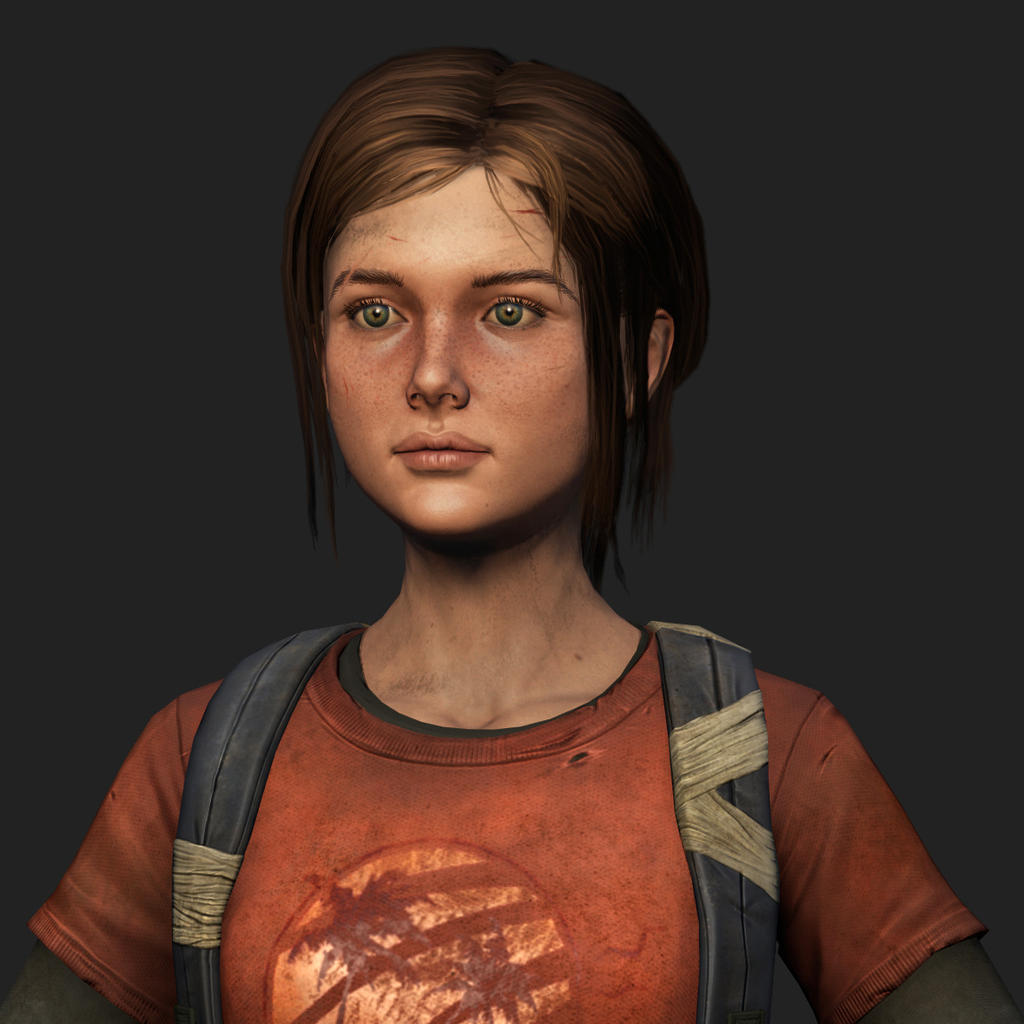 Closeup shot of ellie by Azraele