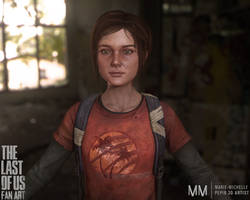 Ellie from The last of us, New closeup