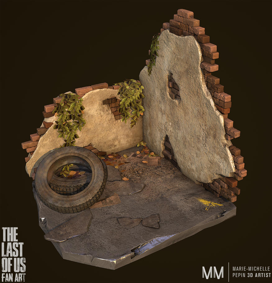 The last of us inspired Diorama by Azraele