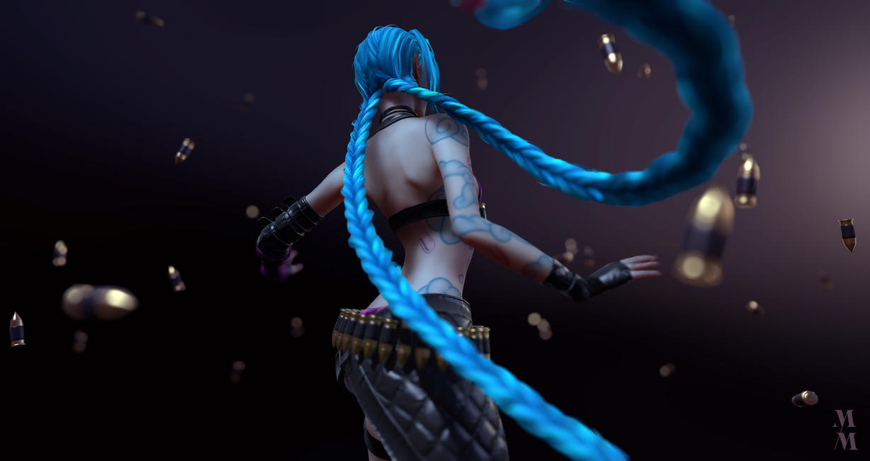 Jinx, Soon! Wallpaper by Azraele