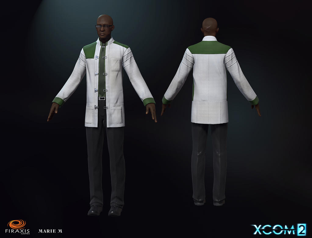 XCOM 2 Dr Richard Tygan Full by Azraele