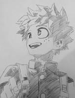 Izuku Midoriya (My Hero Academia) by KenzH2