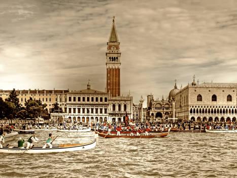 The regatta, long ago