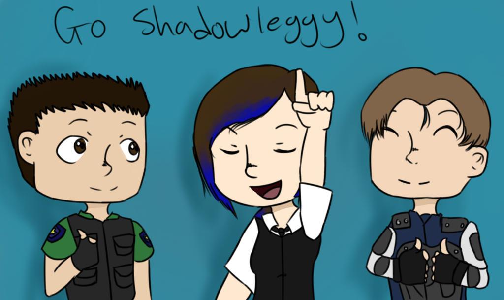 DON'T STOP BELIEVEIN' Shadowleggy! by Insanityatbest