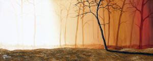 Misty Forest by eddiekisosondi