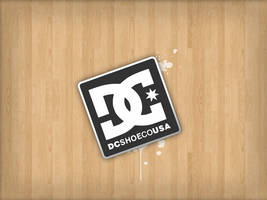 dc wood works sticker by bmgreatness