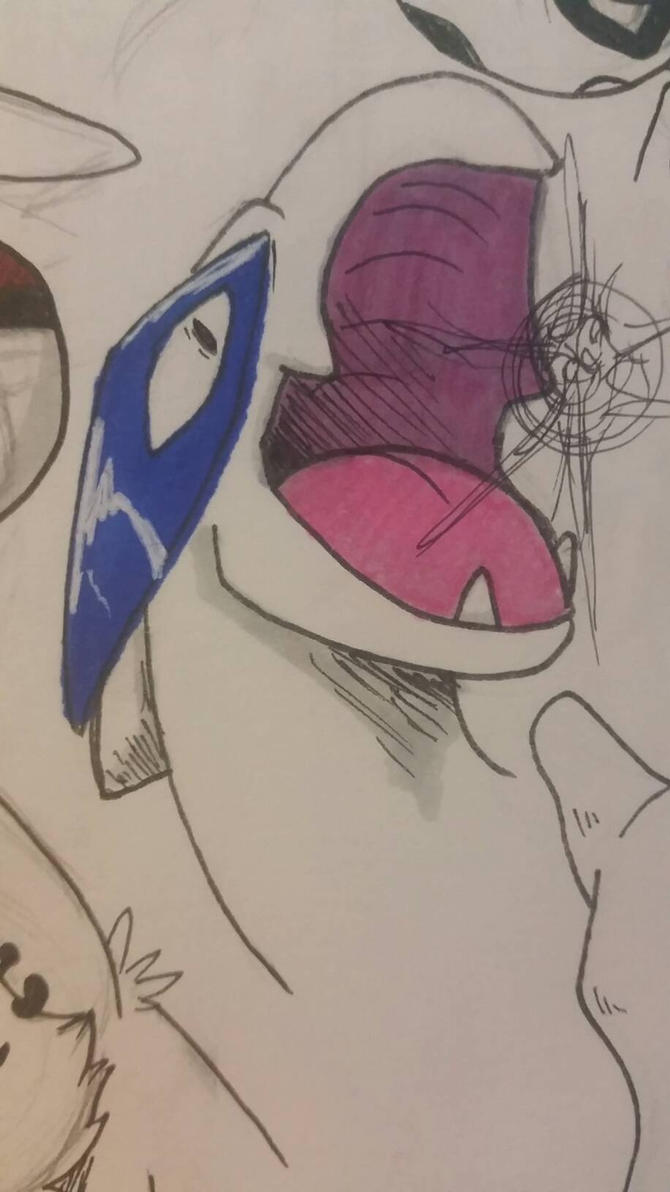 Lugia  by BlackFeather57