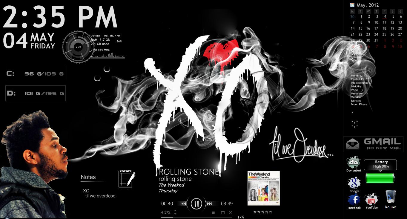 XO Desktop by eight-wonder