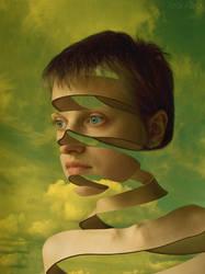 circuled in the sky by ANTONINA-art