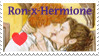 Ron-x-Hermione Group Stamp by extraordi-mary