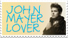 John Mayer Stamp by extraordi-mary