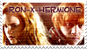 Ron-x-Hermione DH Stamp by gracelessnight