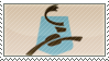Caribou Coffee Stamp by extraordi-mary