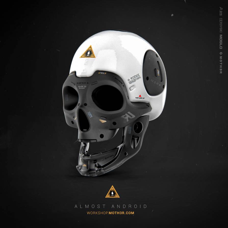 Almost Human - Skull