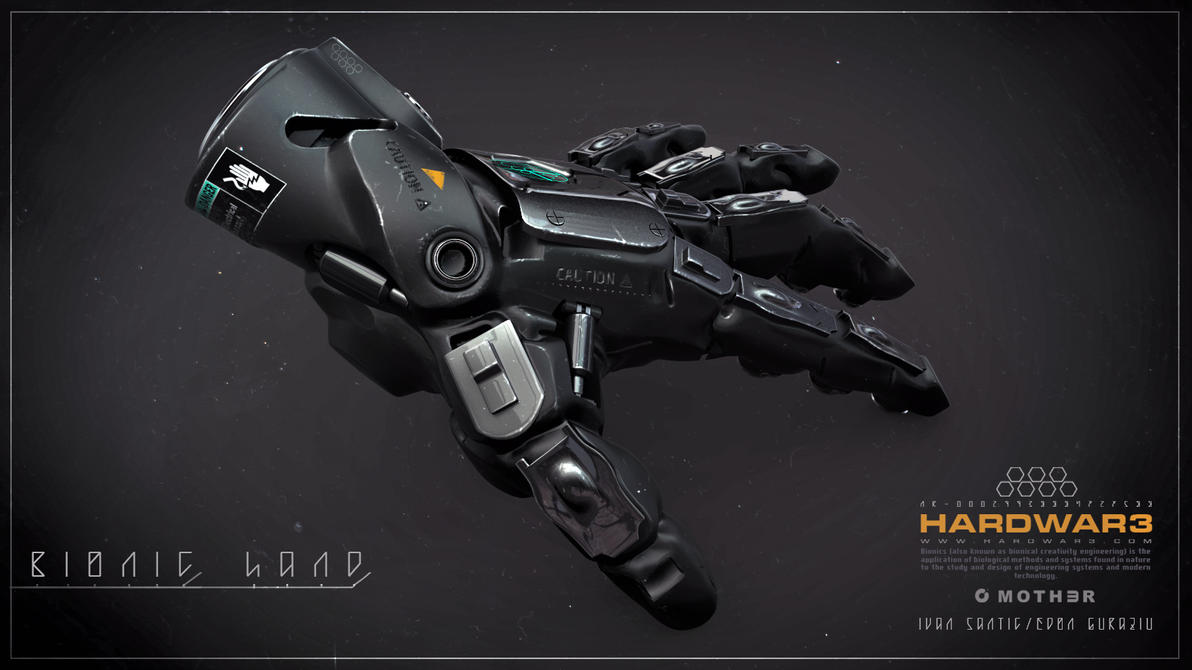 Bionic Hand by moth3R
