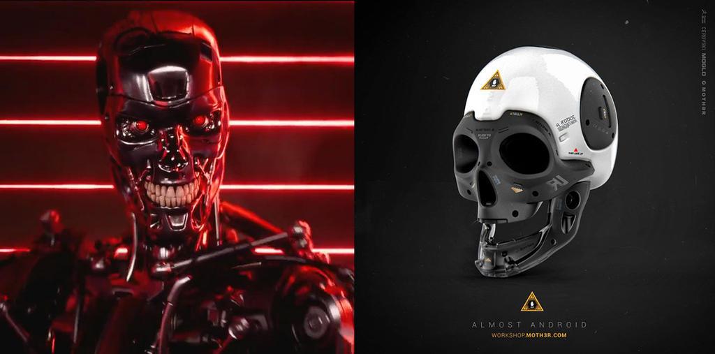 Moth3r vs Terminator by moth3R