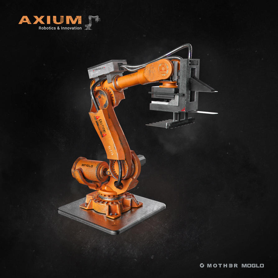 AXIUM Robotics by moth3R