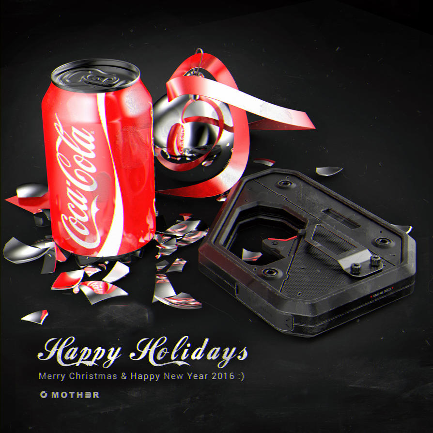 Happy Holidays 2016 by moth3R