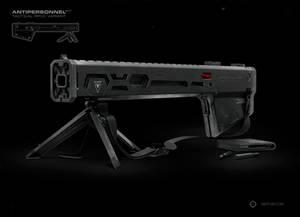 AP-C Zero Tactical Rifle Render