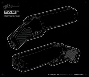 'DX-12' #blueprint by moth3R