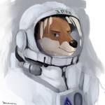 Otter cosmonaut