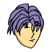 Purple Hair by Darksider0