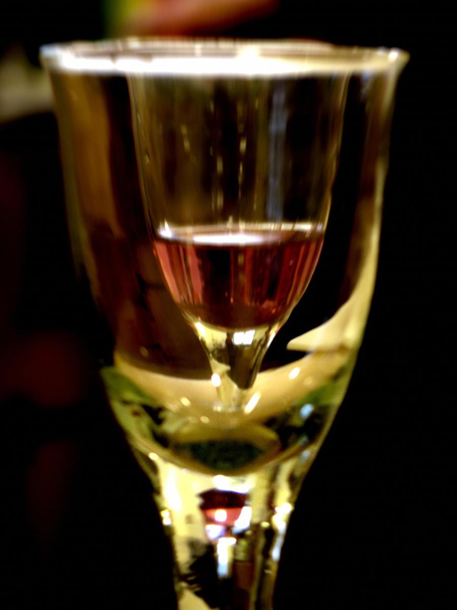 Wine in Glass - 1