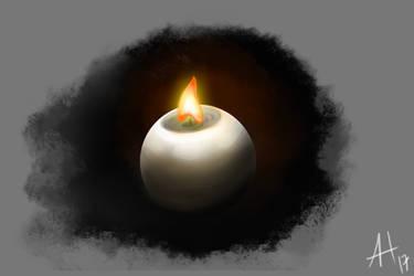 something like ball candle