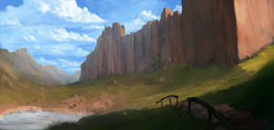 a giant rock! by Fenrir--the-2nd
