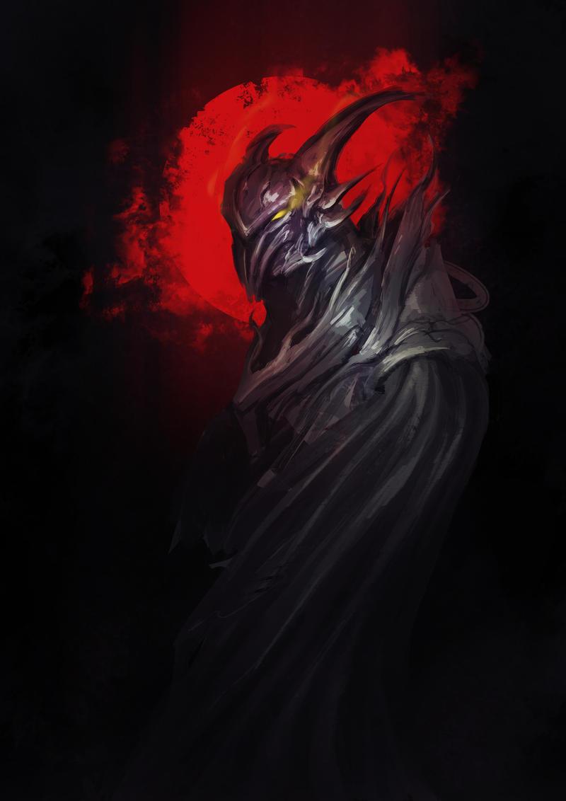 dark Knight by Fenrir--the-2nd