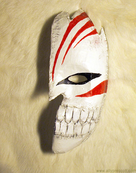 Ichigo Hollow Mask by SkyeBD
