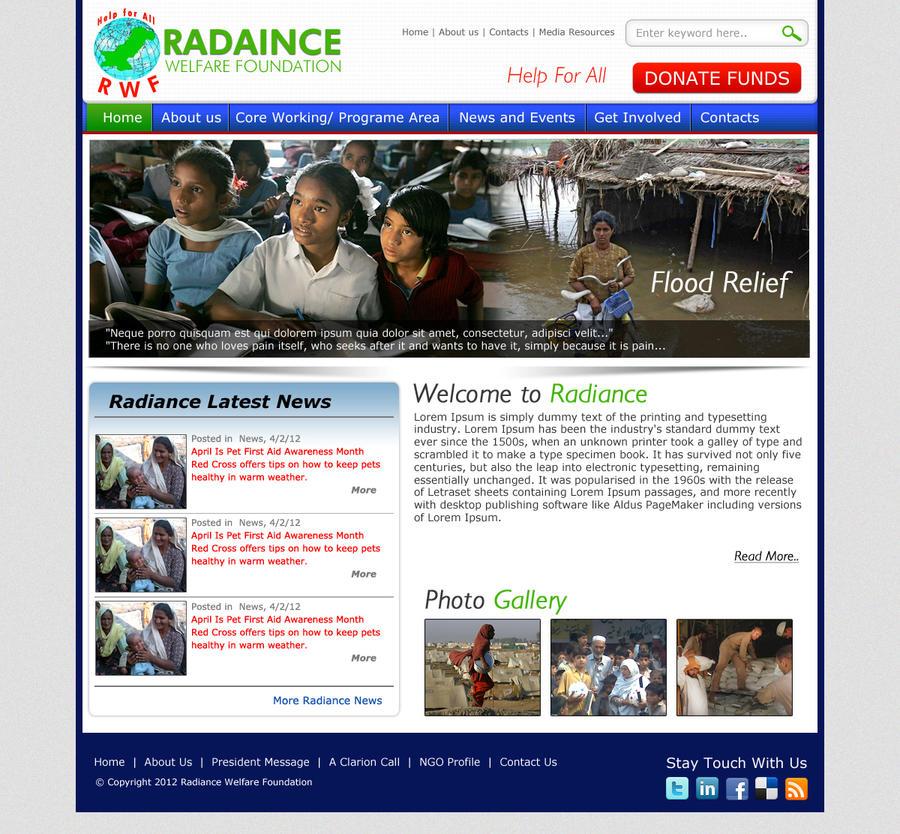 Galerry ngo website design ideas