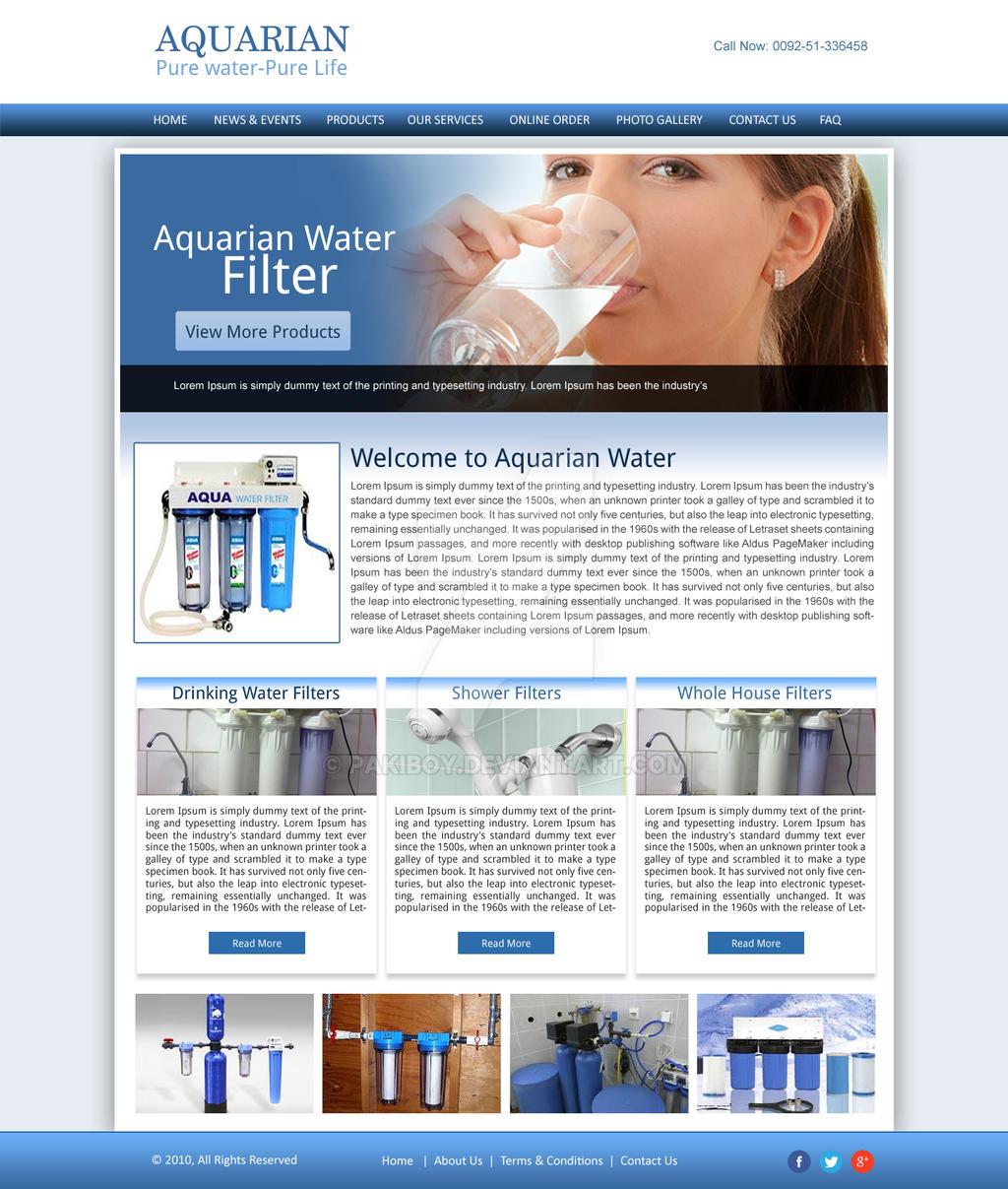 Aqarian Website Design by pakiboy