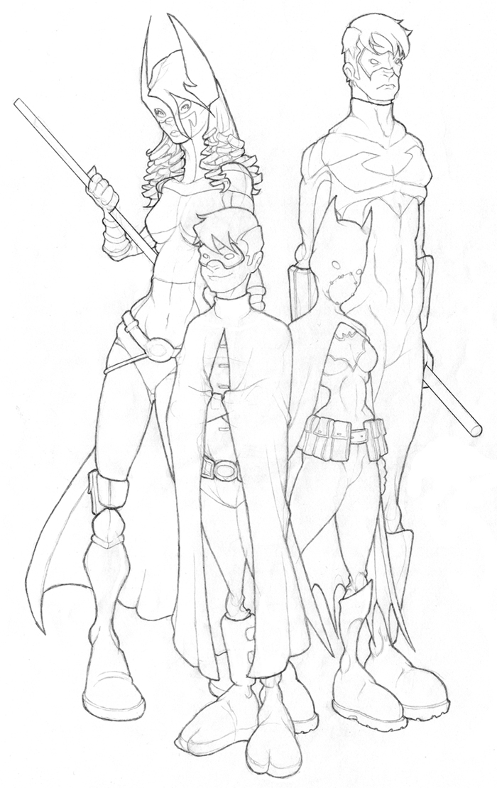 Bat Family by The-G