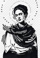 Frida Kahlo by mixmasterangel