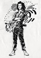 Ellen Ripley 2 by mixmasterangel