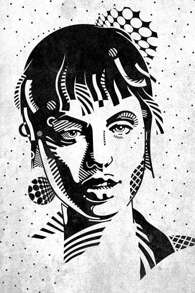 Acid Burn AKA Kate Libby by mixmasterangel