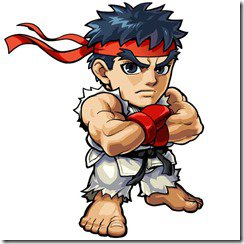 Ryu Mini Render by FirionPrime