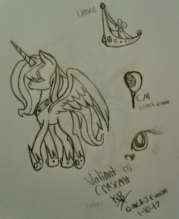 Valiant Crescent Ref Sheet by KBA-PMC