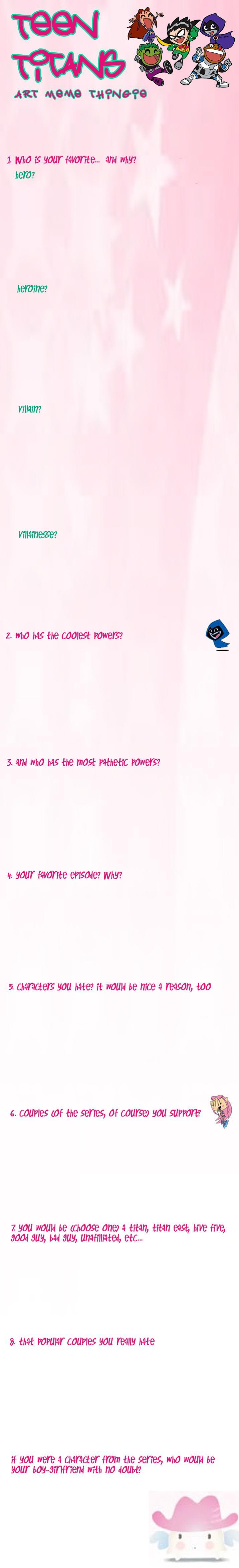 Teen Titans MEME by Smellerbee