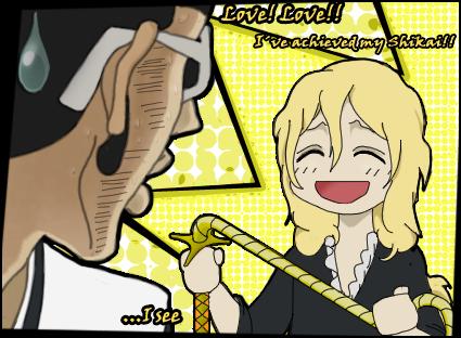 Rose achieves shikai by Smellerbee